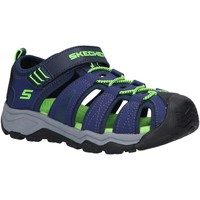 Sapatos Rapaz Sandálias desportivas Skechers 400060L SOLAR QUEST Azul