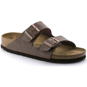 Sapatos Homem Chinelos Birkenstock ARIZONA Bege