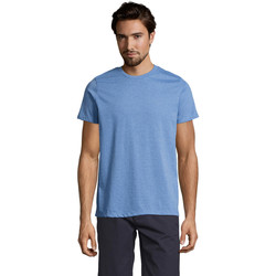 Textil Homem T-Shirt mangas curtas Sols Mixed Men camiseta hombre Azul