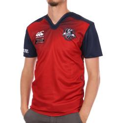 Textil Homem T-Shirt mangas curtas Canterbury  Vermelho