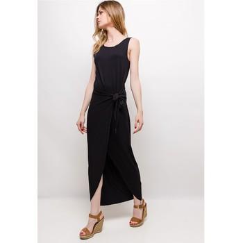 Textil Mulher Vestidos curtos Fashion brands ERMD-1682-NEW-NOIR Preto