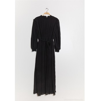 Textil Mulher Vestidos compridos Fashion brands 9805-2-0-NOIR Preto