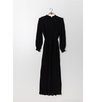 Textil Mulher Vestidos curtos Fashion brands 9805-NOIR Preto