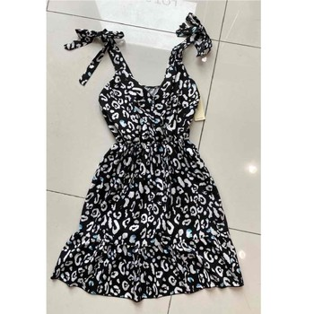 Textil Mulher Vestidos curtos Fashion brands 5165-NOIR Preto