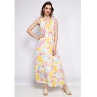 Textil Mulher Vestidos curtos Fashion brands R185-JAUNE Amarelo