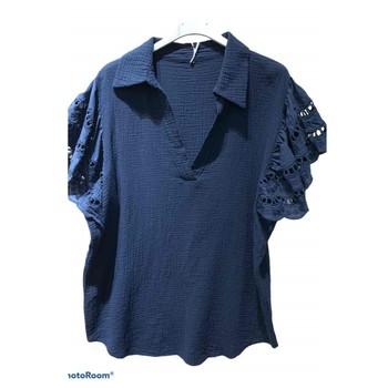 Textil Mulher Tops / Blusas Fashion brands 310311-NAVY Marinho