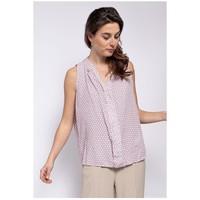 Textil Mulher Tops / Blusas Fashion brands TP25-PINK Rosa