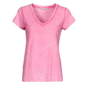 Textil Mulher Tops / Blusas Fashion brands 029-COEUR-FUCHSIA Rosa fúchia