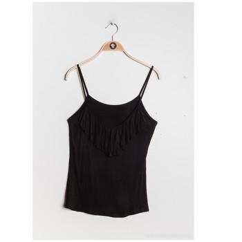 Textil Mulher Tops / Blusas Fashion brands D852-BLACK Preto