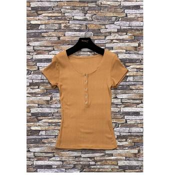 Textil Mulher Tops / Blusas Fashion brands HS-2863-BROWN Castanho