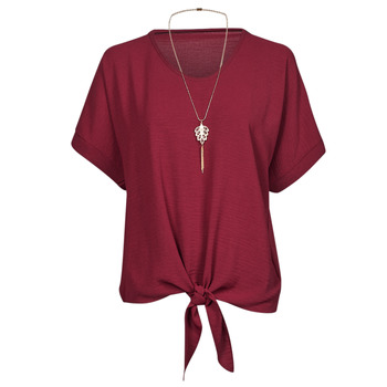 Textil Mulher Tops / Blusas Fashion brands BY32-PINK Rosa