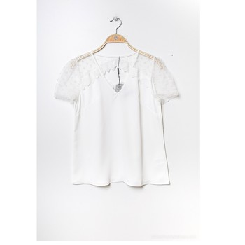 Textil Mulher Tops / Blusas Fashion brands K5518-WHITE Branco