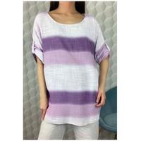 Textil Mulher Tops / Blusas Fashion brands 156485V-LILAC Lilás