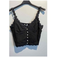 Textil Mulher Tops / Blusas Fashion brands 6133-BLACK Preto