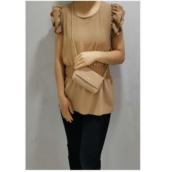 Textil Mulher Tops / Blusas Fashion brands 3101-CAMEL Camel