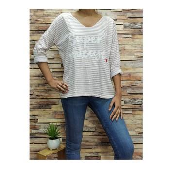 Textil Mulher Tops / Blusas Fashion brands 21052-PINK Rosa