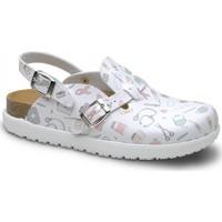 Sapatos Mulher Tamancos Feliz Caminar Zueco Laboral BIO VEGA - Multicolor