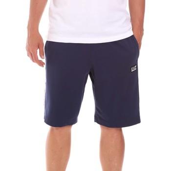 Textil Homem Shorts / Bermudas Ea7 Emporio Armani 3KPS81 PJ05Z Azul