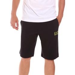 Textil Homem Shorts / Bermudas Ea7 Emporio Armani 3KPS59 PJ05Z Preto