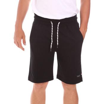 Textil Homem Shorts / Bermudas Key Up 2F38E 0001 Preto