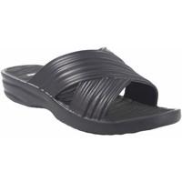 Sapatos Mulher Chinelos Kelara Senhora da praia  k02017 preto Preto