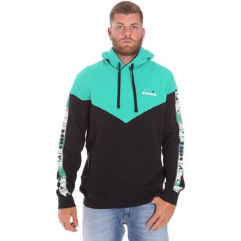 Textil Homem Sweats Diadora 502176092 Preto
