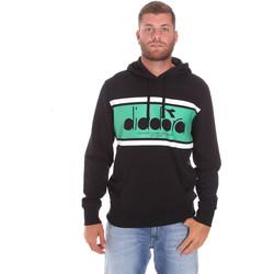 Textil Homem Sweats Diadora 502173625 Preto