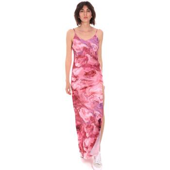 Textil Mulher Vestidos compridos Me Fui M20-0958X1 Rosa