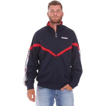 Textil Homem Casacos fato de treino Diadora 502176080 Azul
