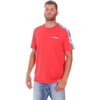 Textil Homem T-Shirt mangas curtas Diadora 502176085 Vermelho