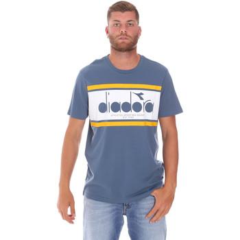 Textil Homem T-Shirt mangas curtas Diadora 502176632 Azul