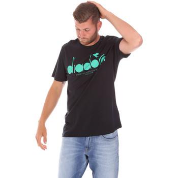 Textil Homem T-Shirt mangas curtas Diadora 502176633 Preto