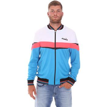 Textil Homem Casacos fato de treino Diadora 102175669 Azul