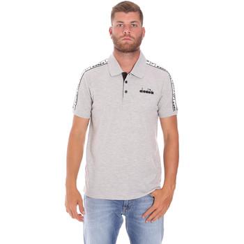 Textil Homem Polos mangas curta Diadora 102175672 Cinzento