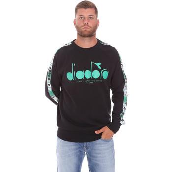 Textil Homem Sweats Diadora 502175376 Preto