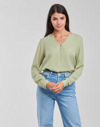 Textil Mulher Tops / Blusas Betty London PISSINE Verde