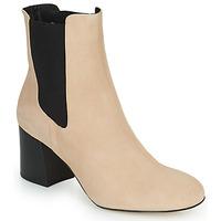 Sapatos Mulher Botins Cosmo Paris LACADO 2 Bege