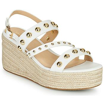 Sapatos Mulher Sandálias Cosmo Paris HOURA Branco / Ouro