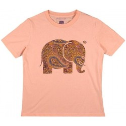 Textil Mulher camisas Trendsplant CAMISETA MUJER  029970WPTP Laranja