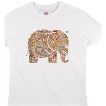 Textil Mulher camisas Trendsplant CAMISETA MUJER  029940WPTW Branco