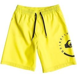Textil Criança Fatos e shorts de banho Quiksilver ECLIPSE VL AQBJV03011 Amarelo