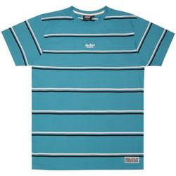 Textil Homem T-Shirt mangas curtas Jacker Poh stripes Azul