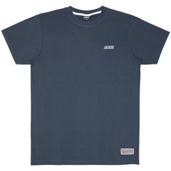 Textil Homem T-Shirt mangas curtas Jacker Classic logo Azul