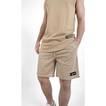 Textil Homem Shorts / Bermudas Sixth June Short  Mesh beige