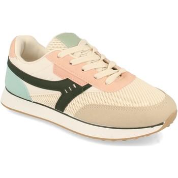 Sapatos Mulher Sapatilhas Buonarotti 1CD-1319 Beige
