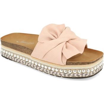 Sapatos Mulher Chinelos Buonarotti YT5570 Rosa