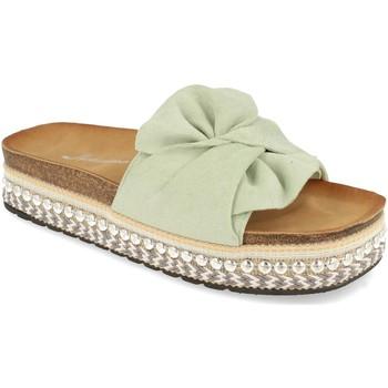 Sapatos Mulher Chinelos Buonarotti YT5570 Verde