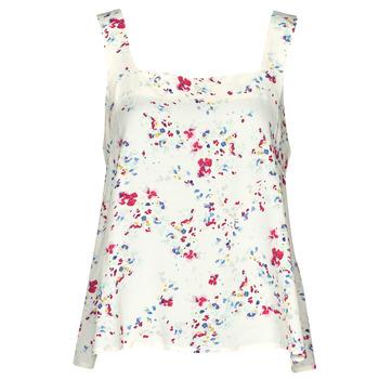 Textil Mulher Tops / Blusas Vero Moda VMMILA Bege