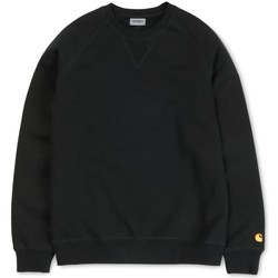 Textil Homem Sweats Carhartt Sweatshirt Chase Black Preto