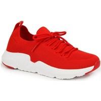 Sapatos Mulher Sapatilhas American Club INT1099C Vermelho